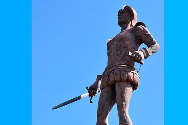Escultura de Hernando de Santana